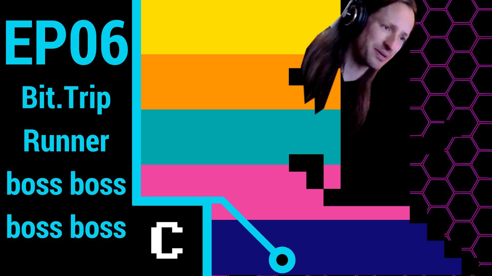 boss boss boss boss!!! - Bittrip Runner - Episode 6