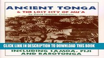 [PDF] Ancient Tonga and the Lost City of Mu a (Lost Cities of the Pacific Series) Popular Online