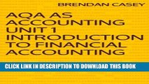 [PDF] AQA AS Accounting Unit 1 Introduction to Financial Accounting Popular Collection