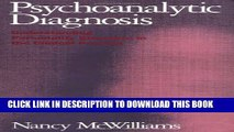 [PDF] Psychoanalytic Diagnosis: Understanding Personality Structure in the Clinical Process Full