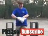 Video lucu, kocak, gokil bikin ngakak aksi bocah karate kayu gagal