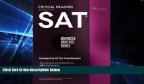 Big Deals  SAT Critical Reading Workbook (Advanced Practice Series) (Volume 4)  Free Full Read