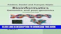 New Book Bioinformatics: Genomics and Post-Genomics