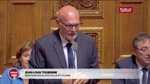 Questions d'actualités du Sénat: Jean-Louis Tourenne rappelé à l'ordre par Gérard Larcher
