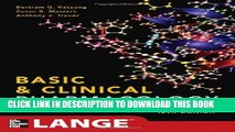 Collection Book Basic and Clinical Pharmacology 12/E (LANGE Basic Science)