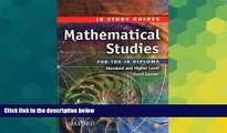 Big Deals  Mathematical Studies for the IB Diploma: Study Guide (International Baccalaureate)