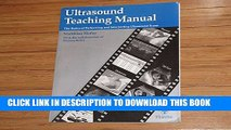 [PDF] Ultrasound Teaching Manual: The Basics of Performing and Interpreting Ultrasound Scans Full