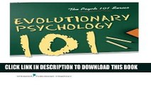[PDF] Evolutionary Psychology 101 (Psych 101) Popular Online