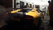 Tuned Lamborghini Murcielago LP640 SV Kit and Larini Exhaust cold start+sounds!