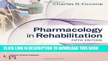 Collection Book Pharmacology in Rehabilitation (Contemporary Perspectives in Rehabilitation)