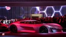 Renault Trezor Concept [MONDIAL DE L'AUTO] : les détails depuis le stand Renault
