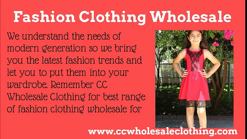 Fashion Clothing Wholesale at CC Wholesale Clothing