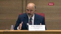 Pierre Moscovici : la commission Juncker cherche les paramètres d'un accord à 10 sur une taxe sur les transactions financières