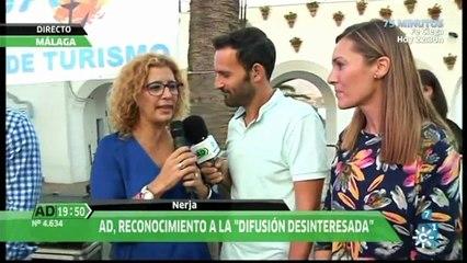 Ruth Núñez y Alejandro Tous 'Turistas de Honor de Nerja 2016' - Andalucía Directo