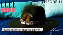 Flair, dénicheur d'idées - Customiser son chapeau d'hiver ! | Episode 11 en exclu sur ELLE Girl, avec Vanessa de Abreu (Blogueuse - Les gambettes sauvages) et Marion Massias (Experte soin - Oh my cream)