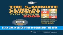 [PDF] The 5-Minute Clinical Consult 2009, Book and Website (The 5-Minute Consult Series) Full