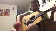 WonderWall d'Oasis joué à la guitare avec un sextoy