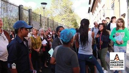 Coup de jeune pour le college Jean-Jaures de Saint-Ouen
