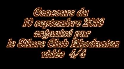 vidéo 4/4 Concours du Silure Club Rhodanien