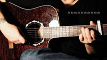 Streets Of Philadelphia - Bruce Springsteen. (Fingerstyle Guitar Cover)