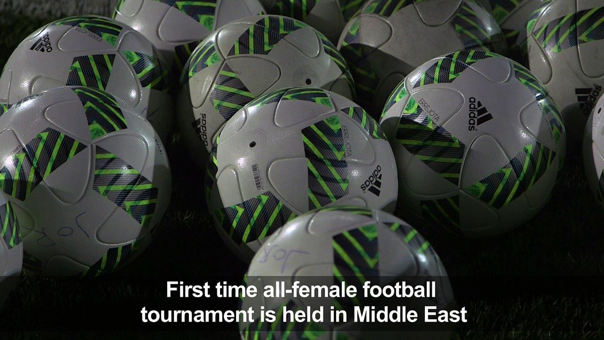 Jordan's under-17 women football team prepare to host World Cup