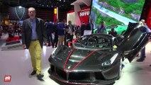 2017 Ferrari LaFerrari Aperta [MONDIAL DE L'AUTO] : la présentation vidéo sur le stand Ferrari