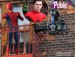 Tom Holland : En plein tournage le nouveau Spider-Man à la pression !