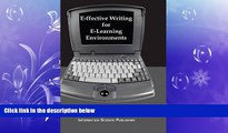 READ book  E-ffective Writing for E-Learning Environments (Cases on Information Technology)