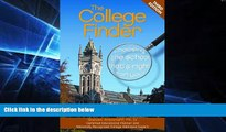 Big Deals  The College Finder  Free Full Read Best Seller