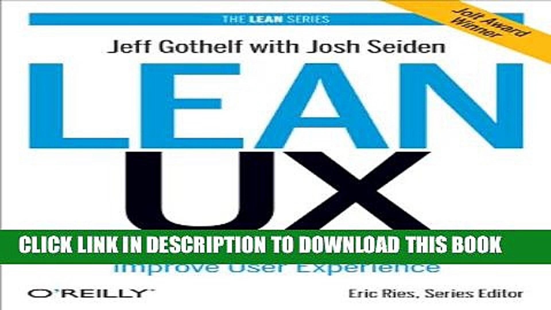 Lean ux methodology