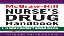 Collection Book McGraw-Hill Nurses Drug Handbook, Seventh Edition (McGraw-Hill s Nurses Drug
