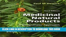New Book Medicinal Natural Products: A Biosynthetic Approach