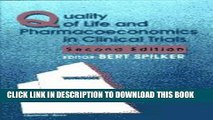 New Book Quality of Life and Pharmacoeconomics in Clinical Trials