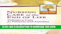 Collection Book Nursing Care at the End of Life: Palliative Care for Patients and Families