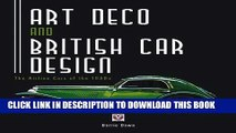 [PDF] Art Deco and British Car Design: The Airline Cars of the 1930s Popular Online
