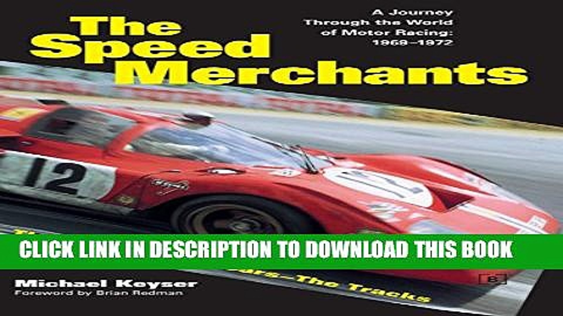 [PDF] The Speed Merchants: A Journey Through the World of Motor Racing - 1969-1972 Popular Colection