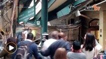 Tren rempuh stesen: Tiga maut, lebih 100 orang cedera