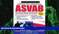 Big Deals  ASVAB: Armed Services Vocational Aptitude Battery (Armed Services Vocational Aptitude