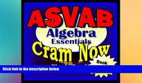 Big Deals  ASVAB Prep Test ALGEBRA REVIEW Flash Cards--CRAM NOW!--ASVAB Exam Review Book   Study