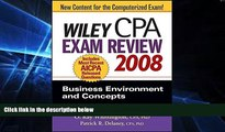 Big Deals  Wiley CPA Exam Review 2008: Business Environment and Concepts (Wiley CPA Examination