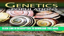 New Book Genetics Of Populations