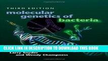 New Book Molecular Genetics of Bacteria, Third Edition (Snyder, Molecular Genetics of Bacteria)