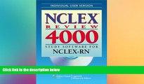 Big Deals  NCLEX® Review 4000: Study Software for NCLEX-RN® (Individual Version) (NCLEX 4000)