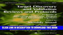 [PDF] Target Discovery and Validation Reviews and Protocols: Emerging Molecular Targets and
