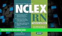 Big Deals  The Chicago Review Press NCLEX-RN Practice Test and Review (NCLEX Practice Test and
