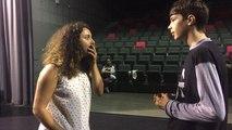 Atelier de théâtre d'improvisation avec les ados de Ty  catch Impro