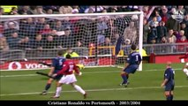 Cristiano Ronaldo - All Free Kick Goals For Manchester United