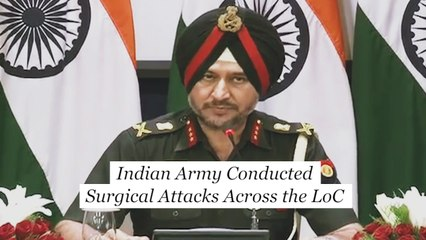 Indian Army conducted surgical strikes across the LoC to safeguard India : Lt. Gen. Ranbir Singh