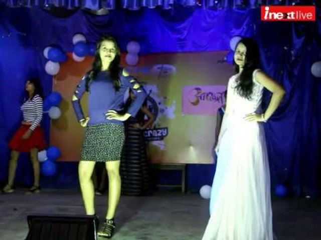 Girls rock in Freshers' party of Fashion Designing department at Ranchi womens college