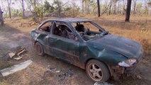 Réssuciter un cadavre de voiture abandonnée en Afrique - les rois du bricolage